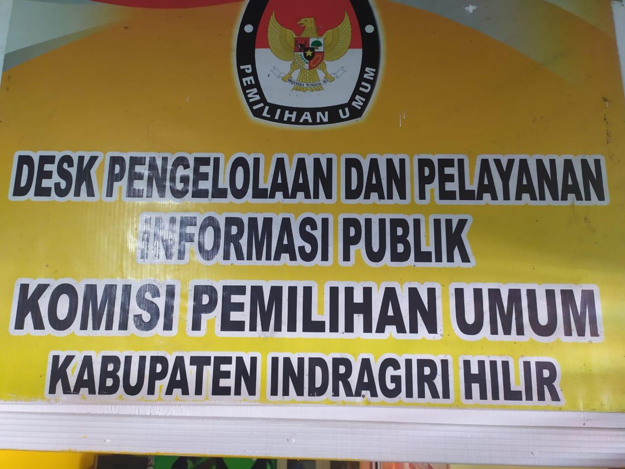 Desk Pengelolaan Dan Pelayanan Informasi Publik KPU Kabupaten Indragiri Hilir