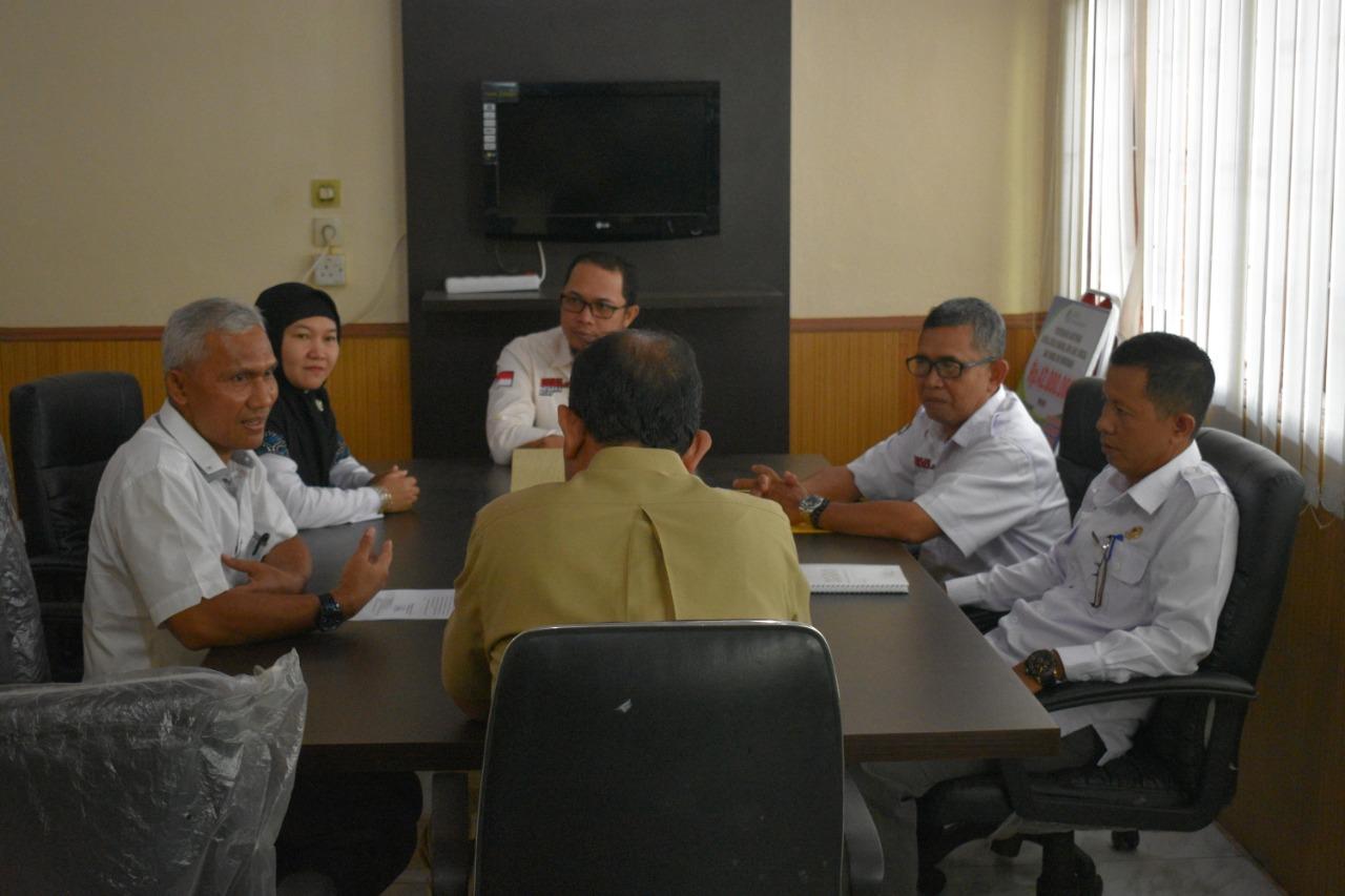 Silahturahmi KPU Indragiri Hilir ke Dinas Pemberdayaan Masayarakat dan Desa (24/02/2019)